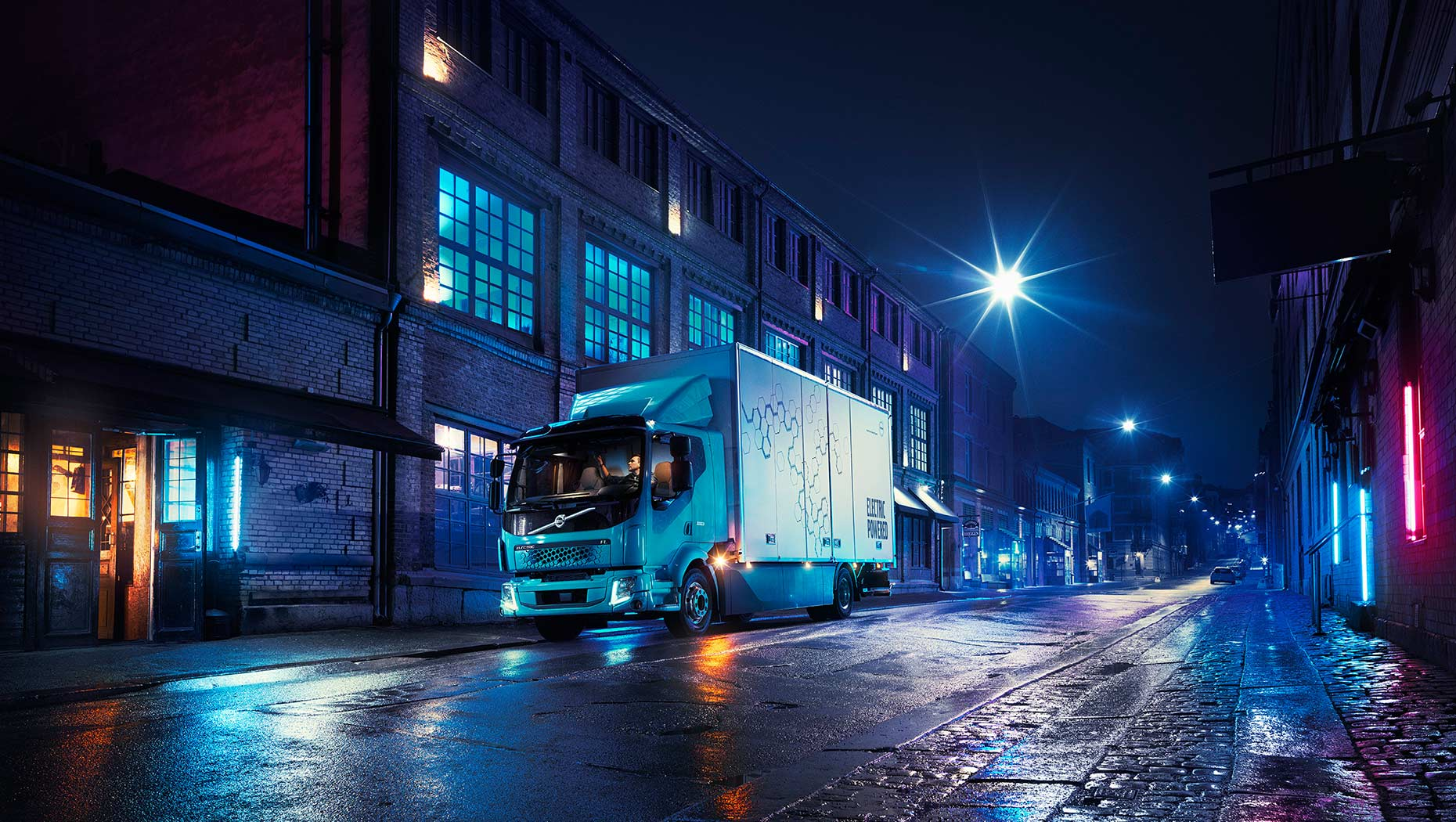 Volvo Trucks now presents its first all-electric truck