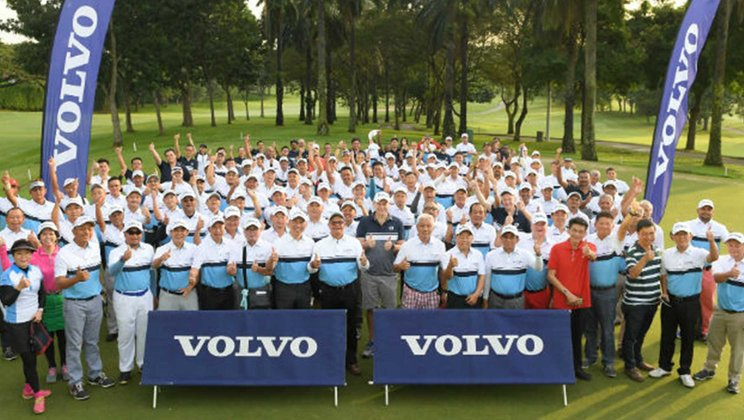 Participants of Volvo World Golf Challenge Malaysia 2018