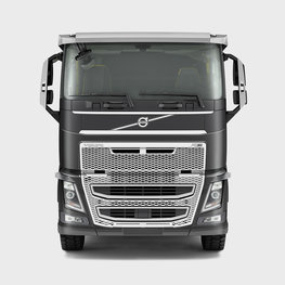 The Volvo FH low sleeper cab