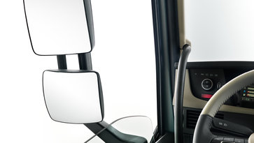 Volvo FH mirrors and windows