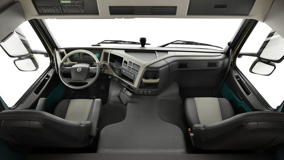 The perfect driver environment of the new Volvo FM
