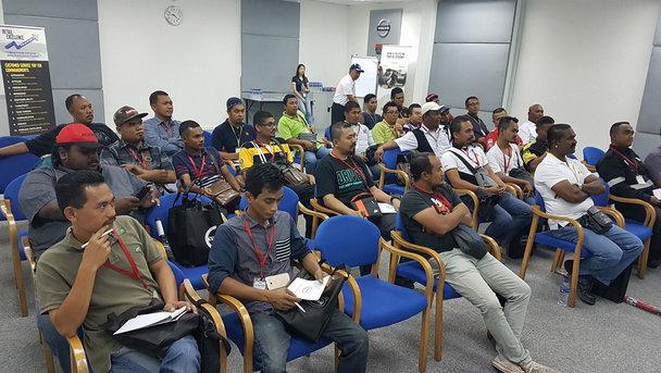 Volvo Trucks Safety Seminar with Globe Truckers and Volvo Trucks Malaysia FB friends