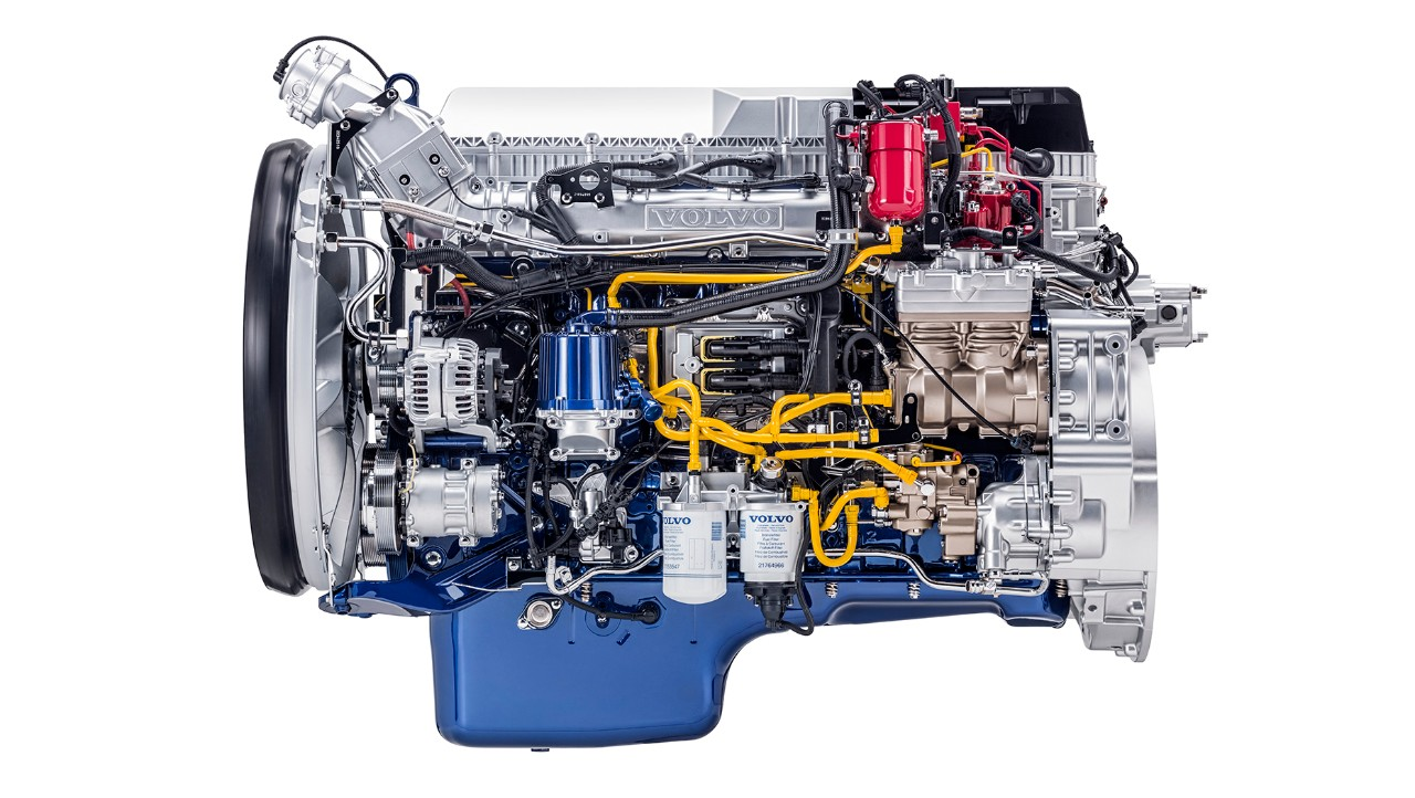 The LNG engine.